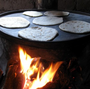 Tortillas in Copper Canyon