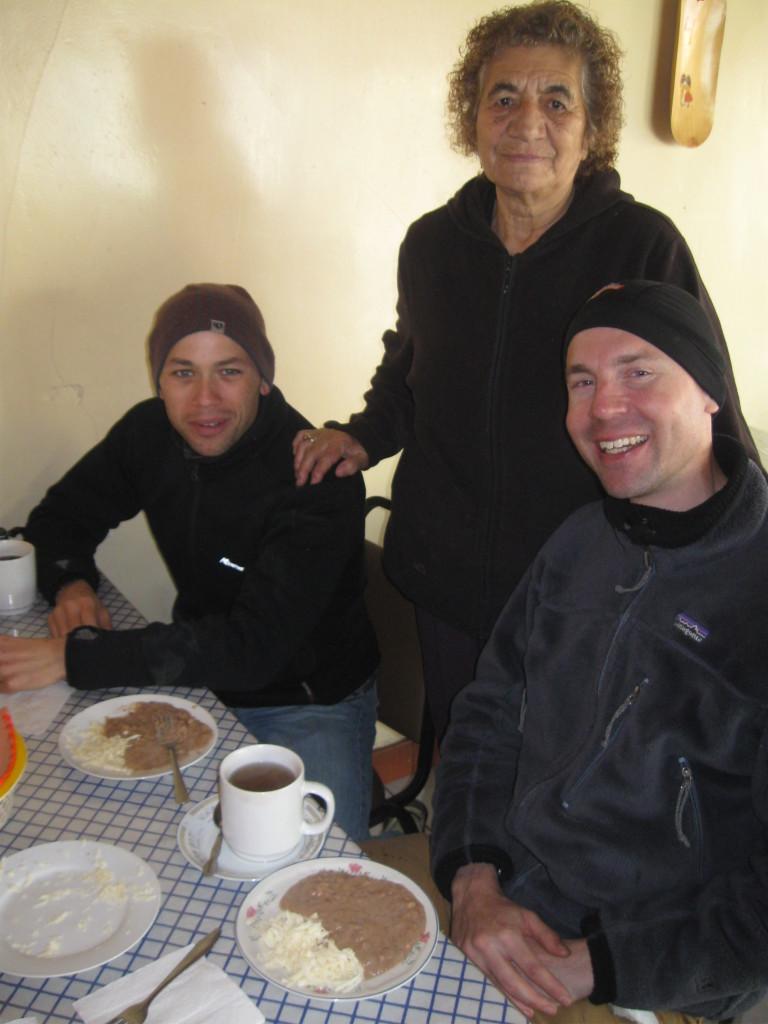 The food is on at Estelas in Creel