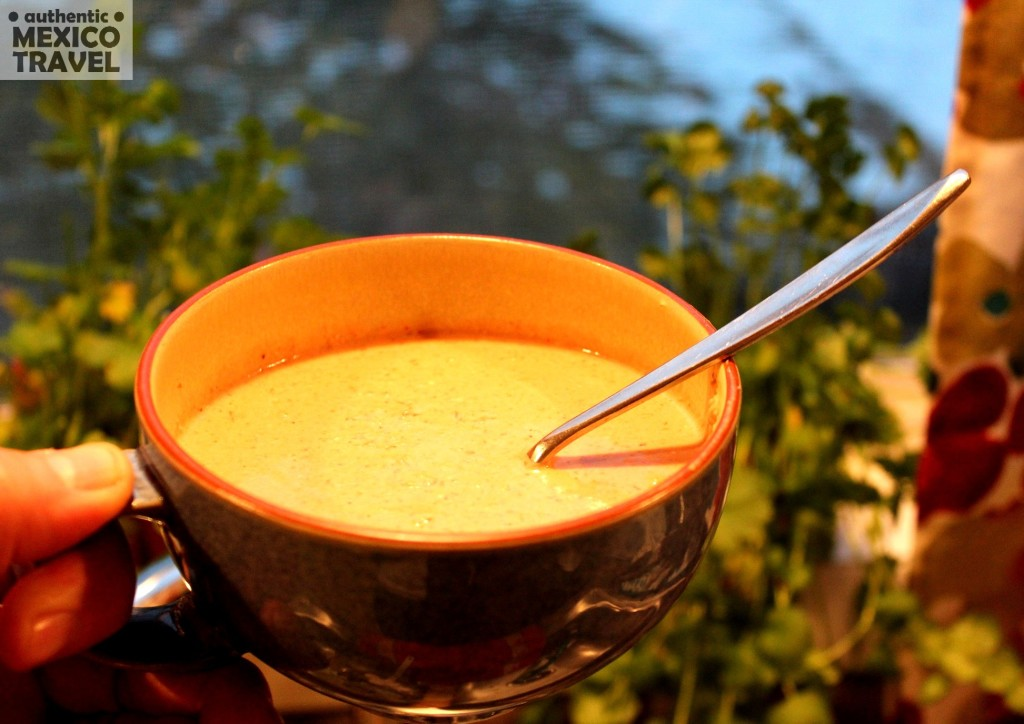 We prepared this pecan soup in our home and it was perfect--just a hint of Chipole. Good idea is to use smoked chipotles.